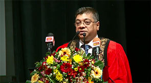 Welcome address by Eng. Shavindranath Fernando