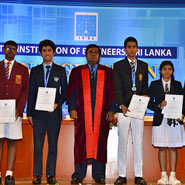School children awarded at IESL 109th Annual Sessions