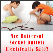 Are Universal Socket Outlets Electrically Safe? By Eng. S. R. Munasinghe