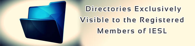 Directories Exclusively Visible to the Registered Members of IESL
