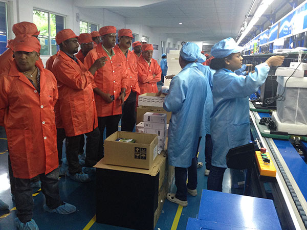 Field Visit to Ewis Computer Assembly Plant at Sooriyawewa