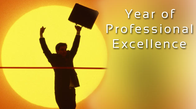 Year of Professional Excellence